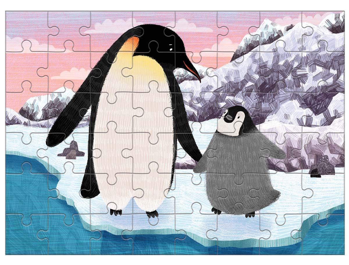 Emperor Penguin Birds Jigsaw Puzzle