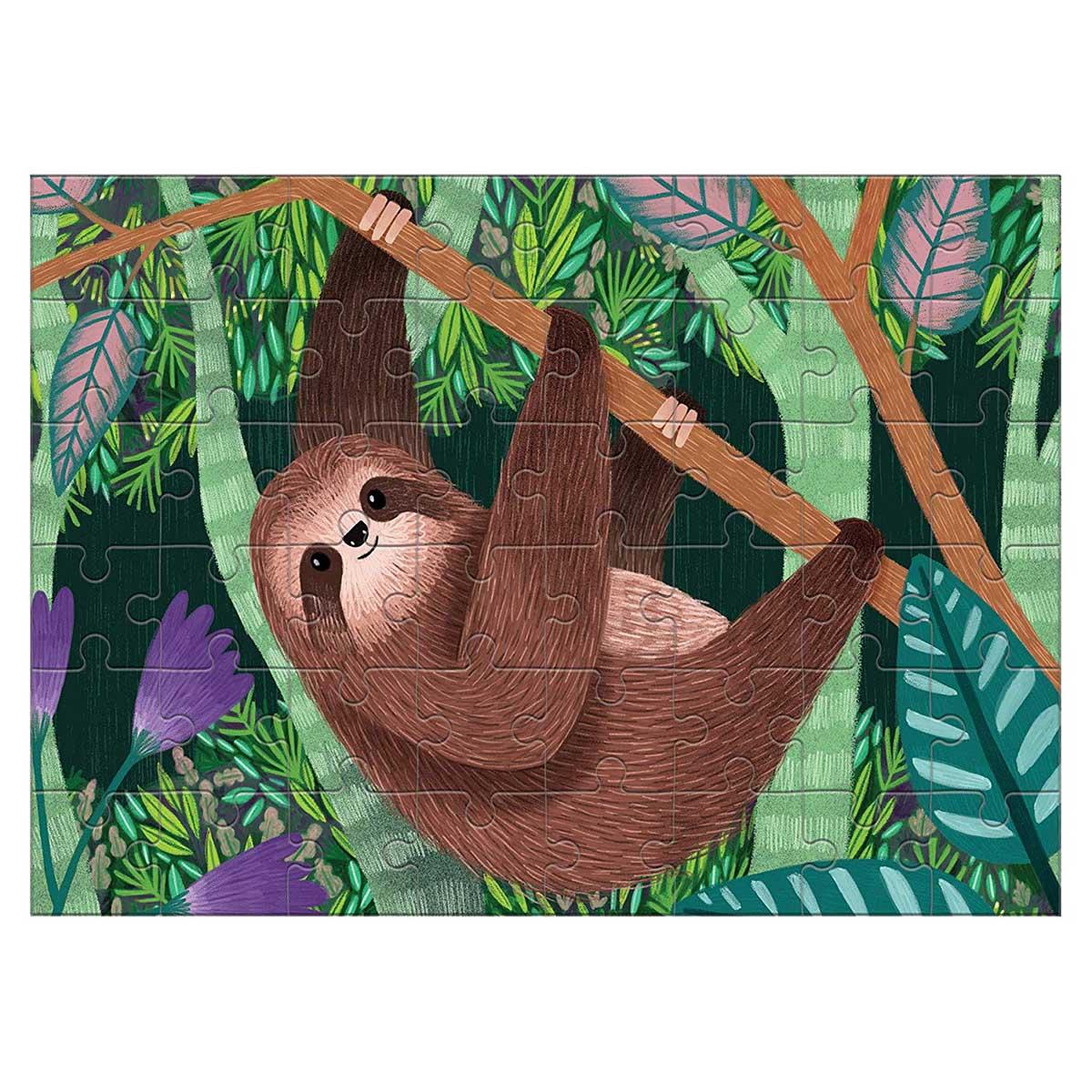 Three-Toed Sloth (Mini) Animals Jigsaw Puzzle