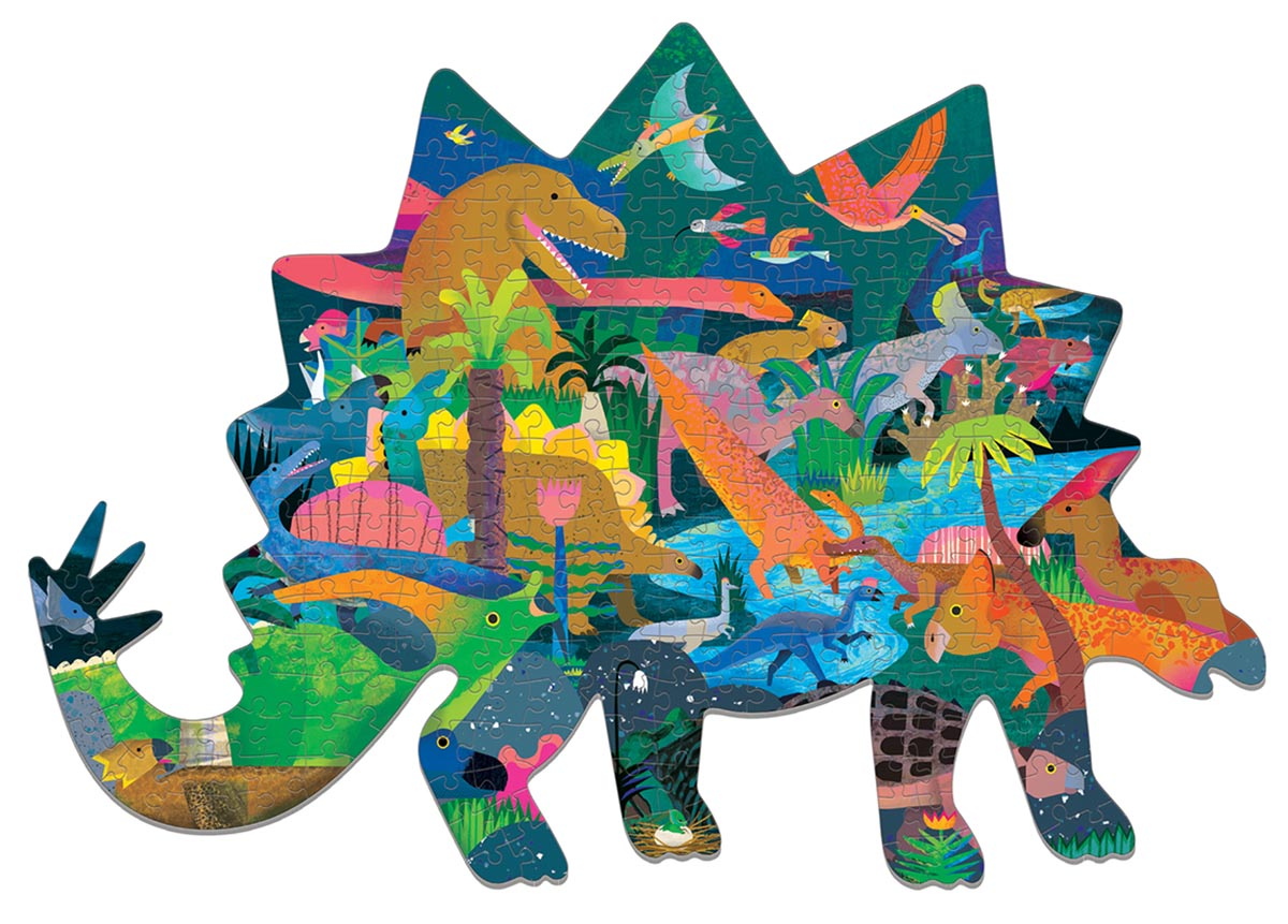 Dinosaurs Dinosaurs Shaped Puzzle
