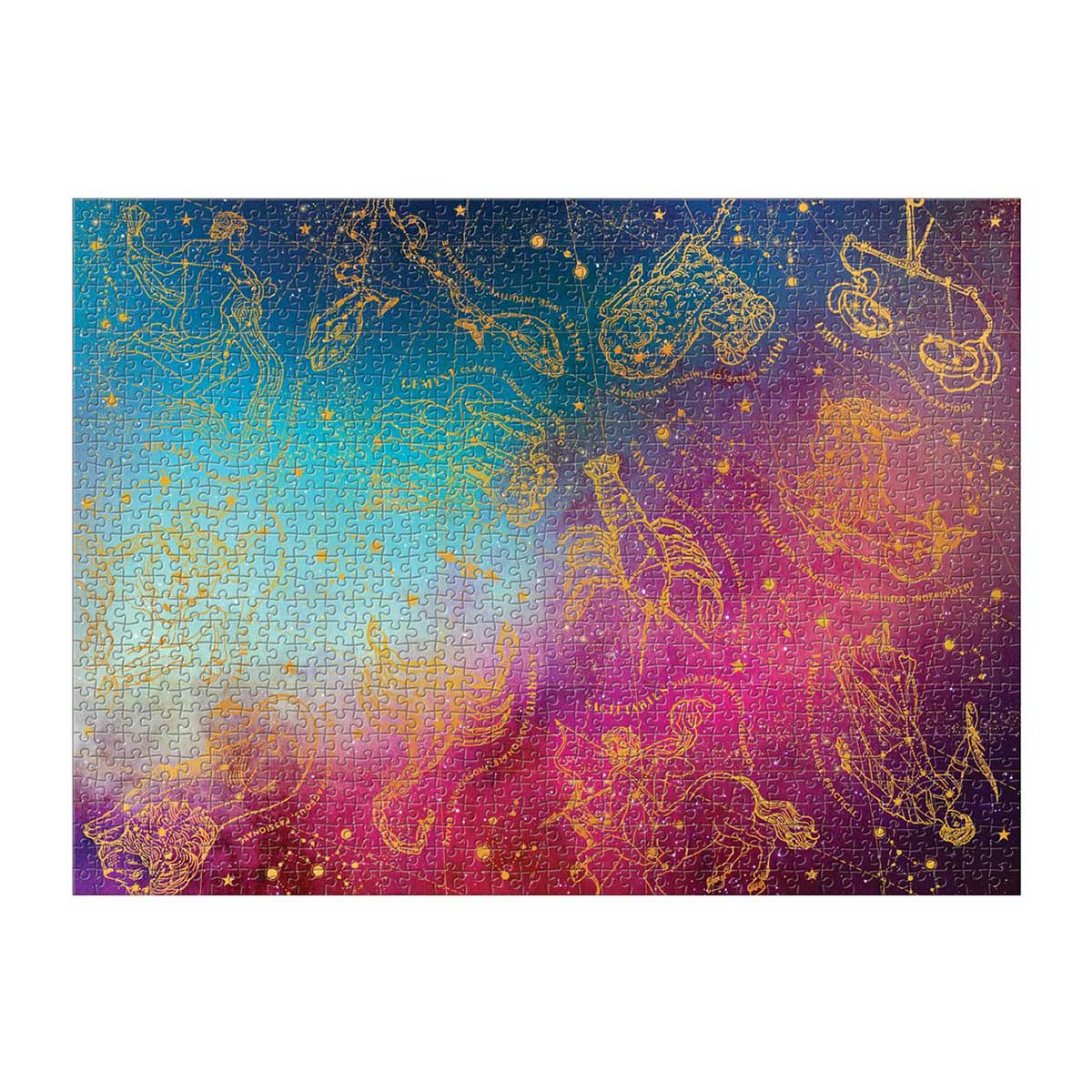 Foil Astrology Space Glitter / Shimmer / Foil Puzzles