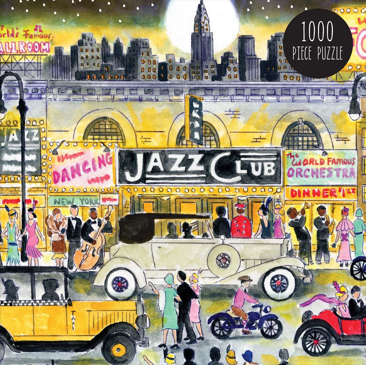 Storrings Jazz Age Graphics / Illustration Jigsaw Puzzle