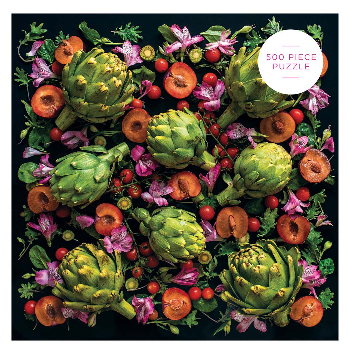Artichoke Floral Food and Drink Jigsaw Puzzle