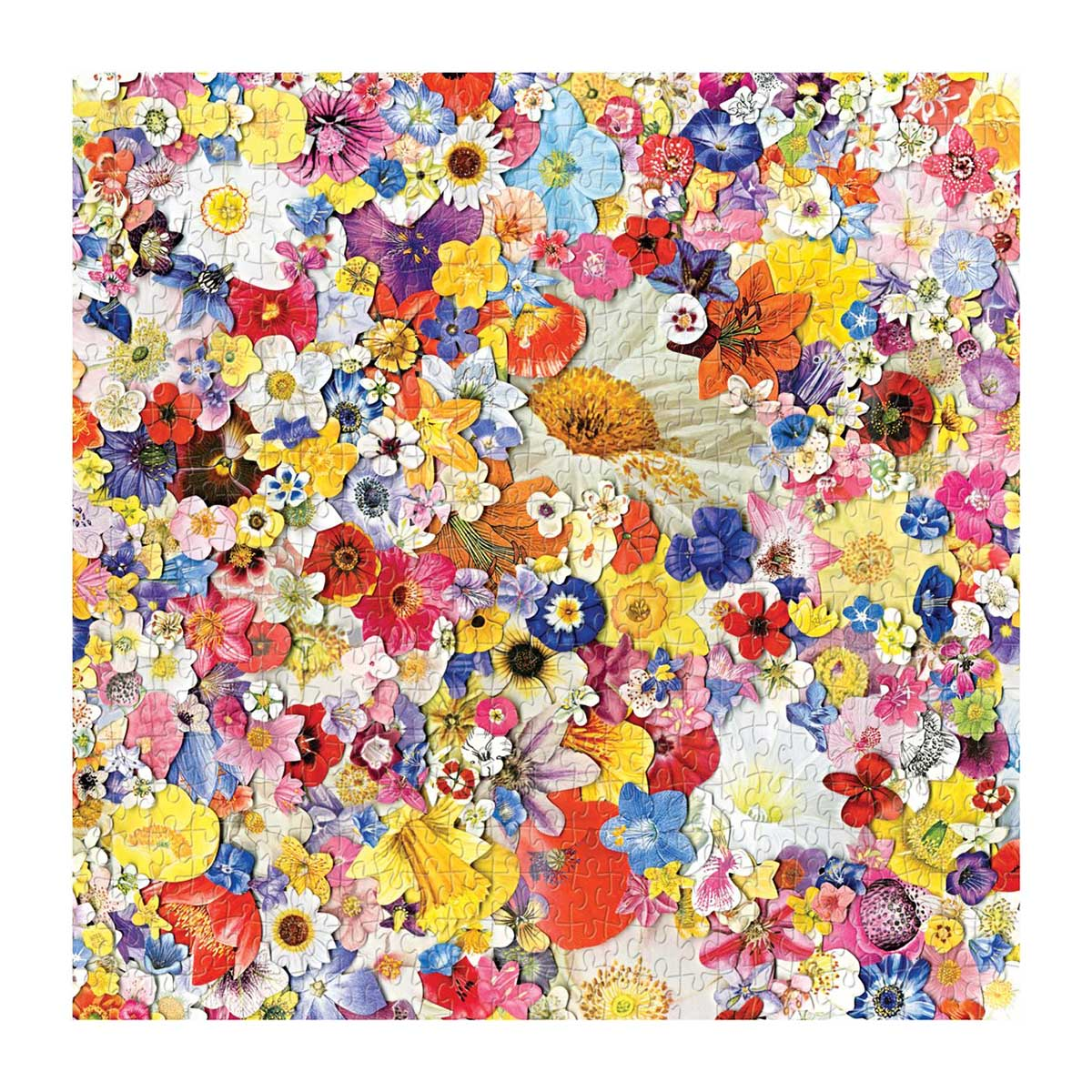Infinite Bloom Flowers Jigsaw Puzzle