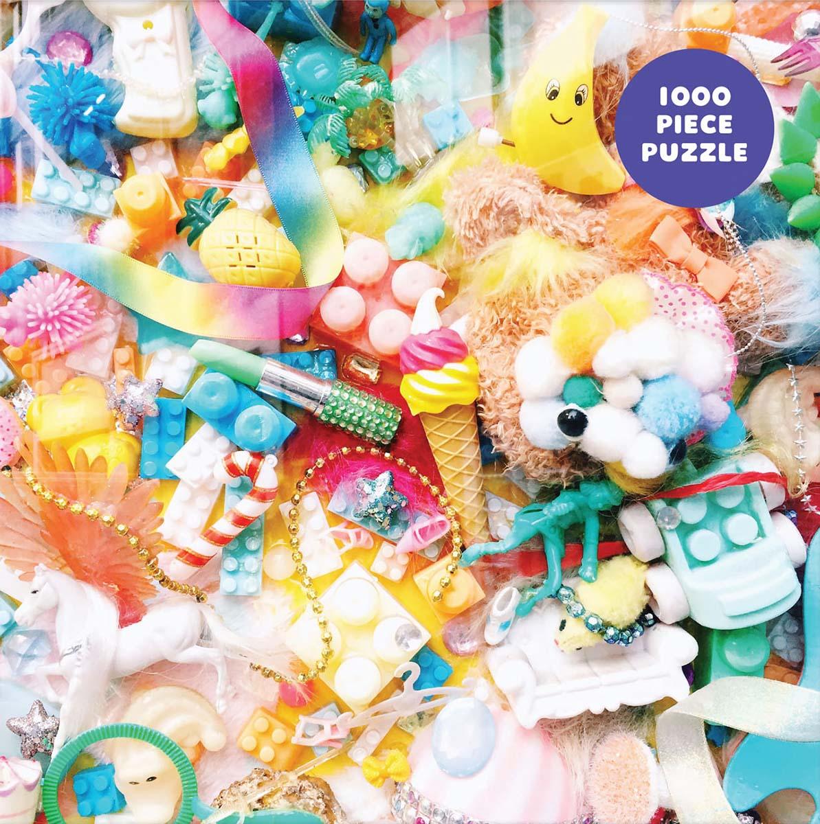 Tokyo Treasures Collage Jigsaw Puzzle