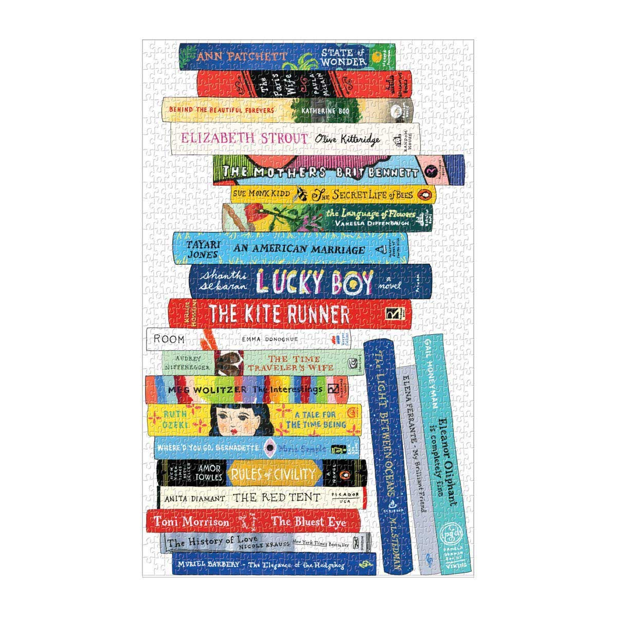 Sq Bibliophile Book Club Darling Movies / Books / TV Jigsaw Puzzle