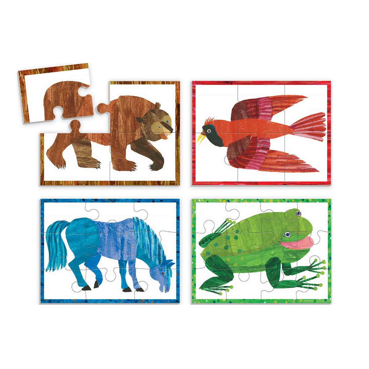 World of Eric Carle, Brown Bear Animals Jigsaw Puzzle