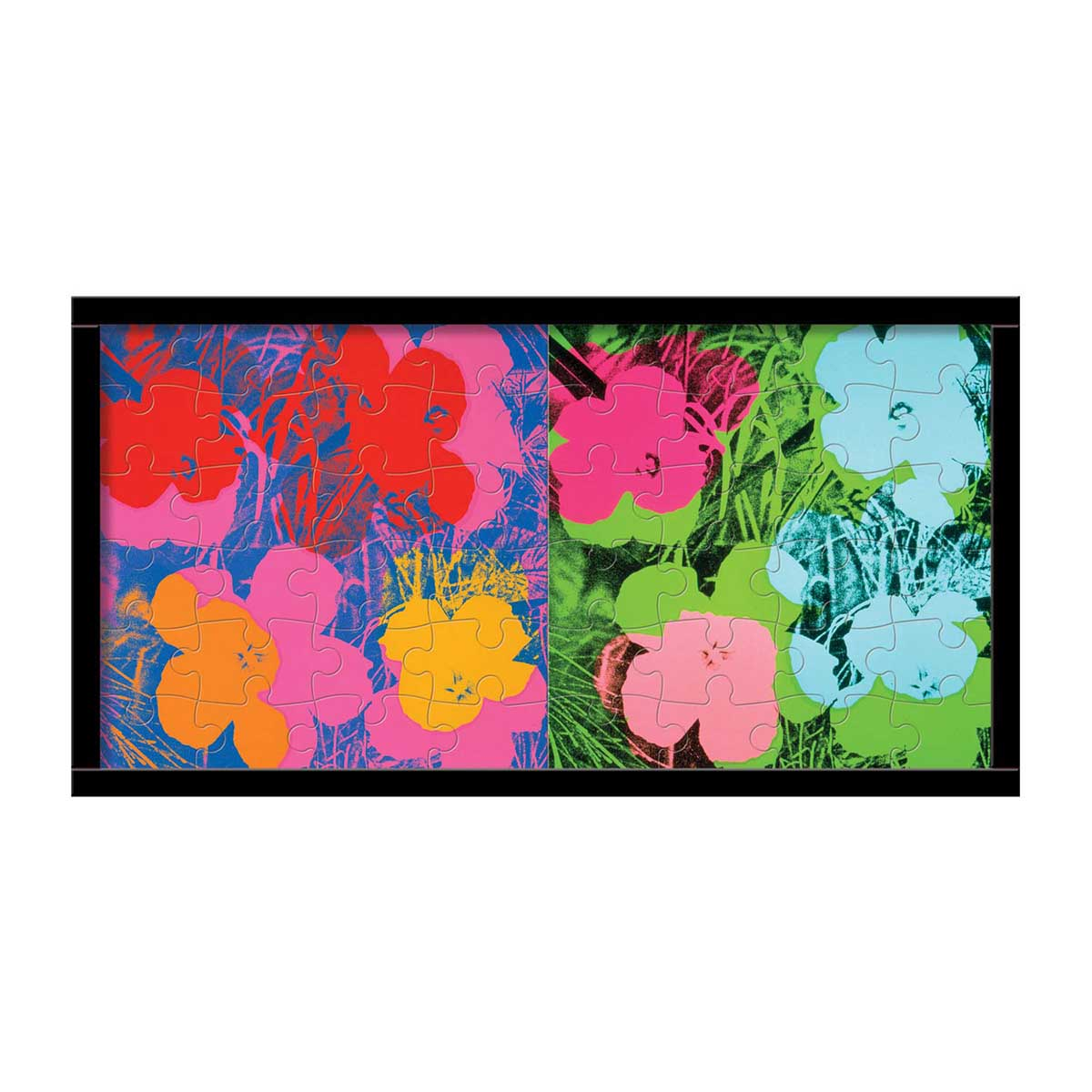 Andy Warhol Wood Puzzle Set Fine Art Jigsaw Puzzle