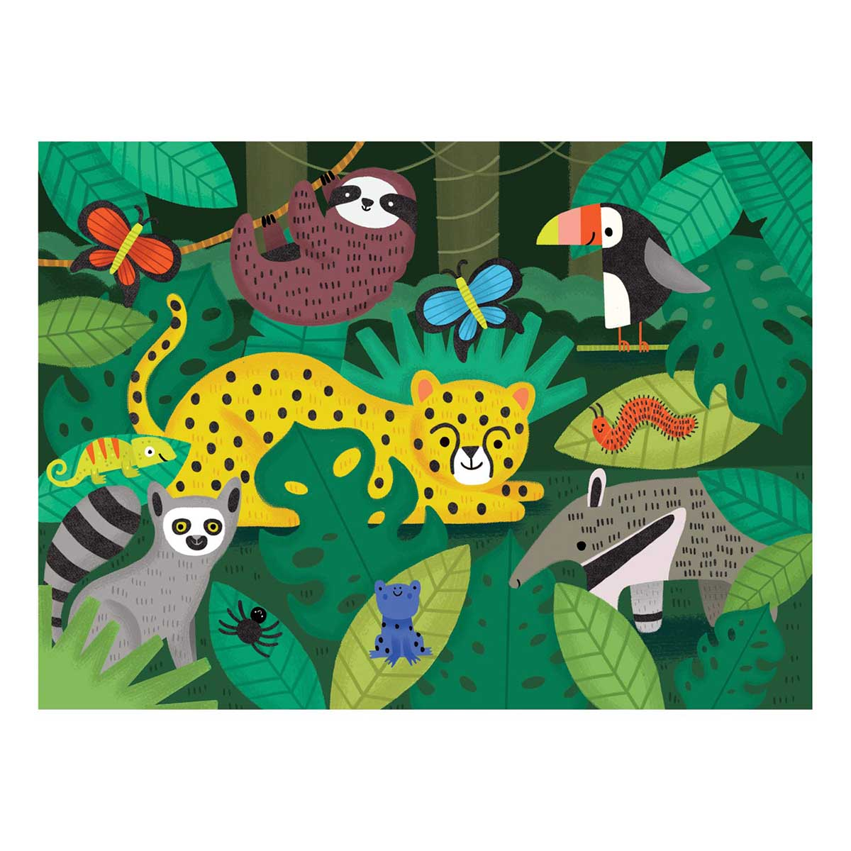 Rainforest Animals Jigsaw Puzzle