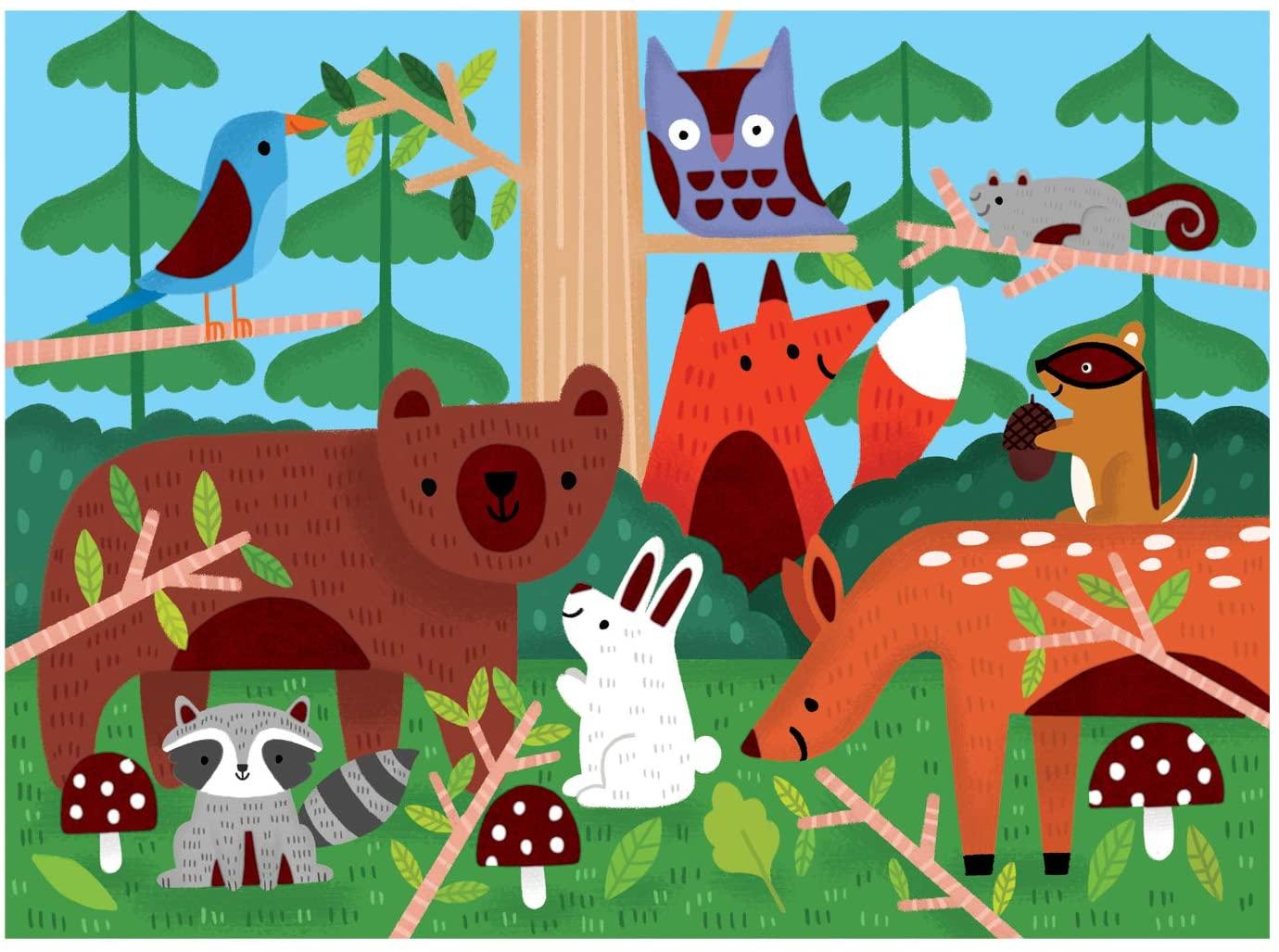 Woodland Animals Jigsaw Puzzle