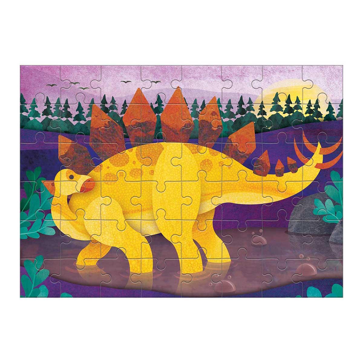 Stegosaurus (Mini) Dinosaurs Jigsaw Puzzle