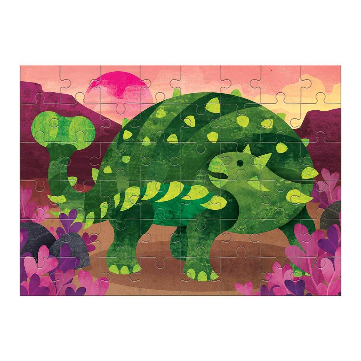 Ankylosaurus Dinosaurs Jigsaw Puzzle