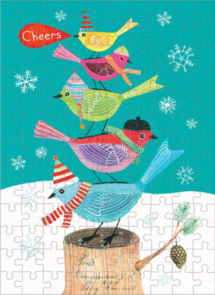 Festive Friends (Mini) Birds Jigsaw Puzzle