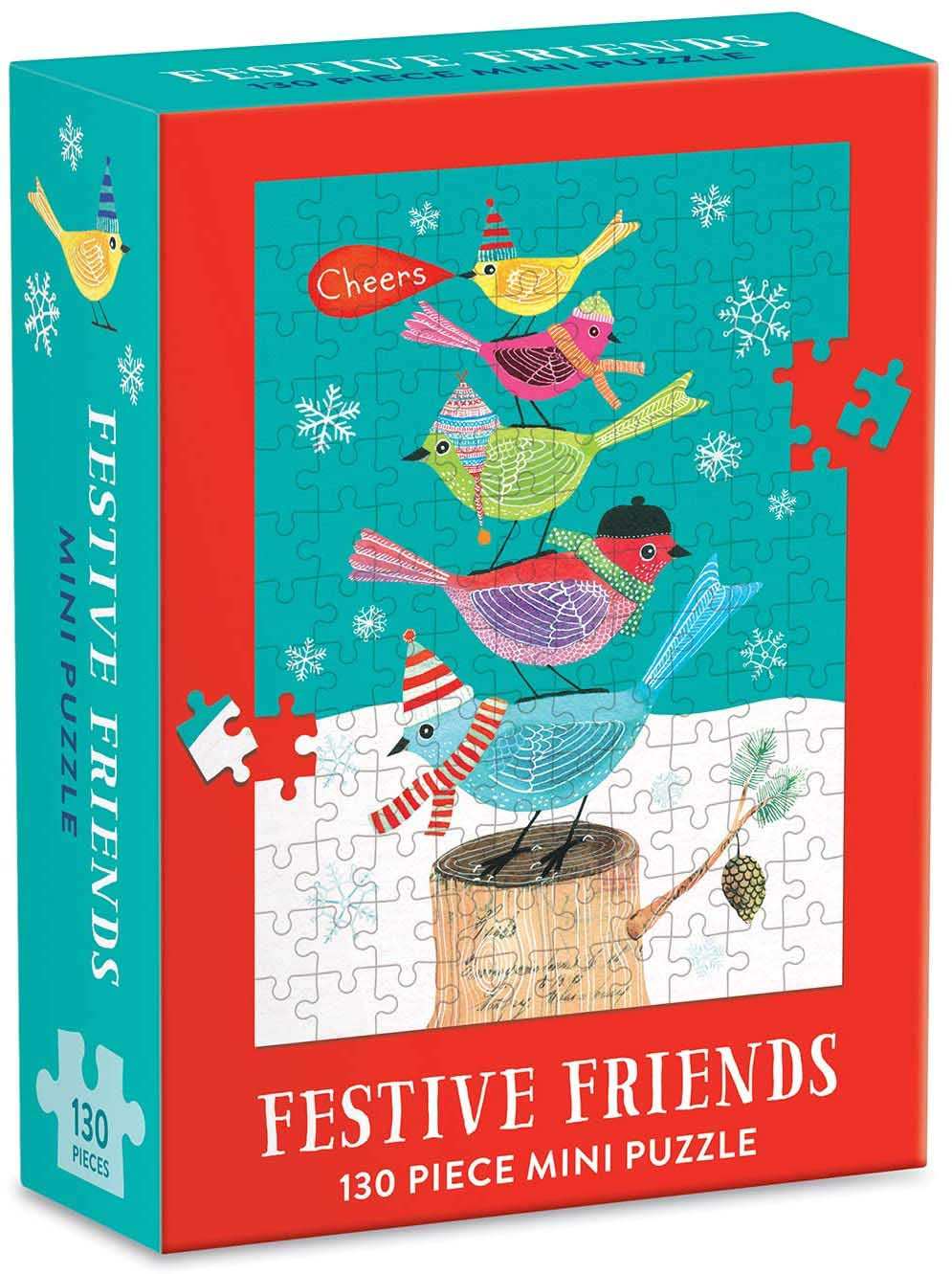 Festive Friends Birds Jigsaw Puzzle