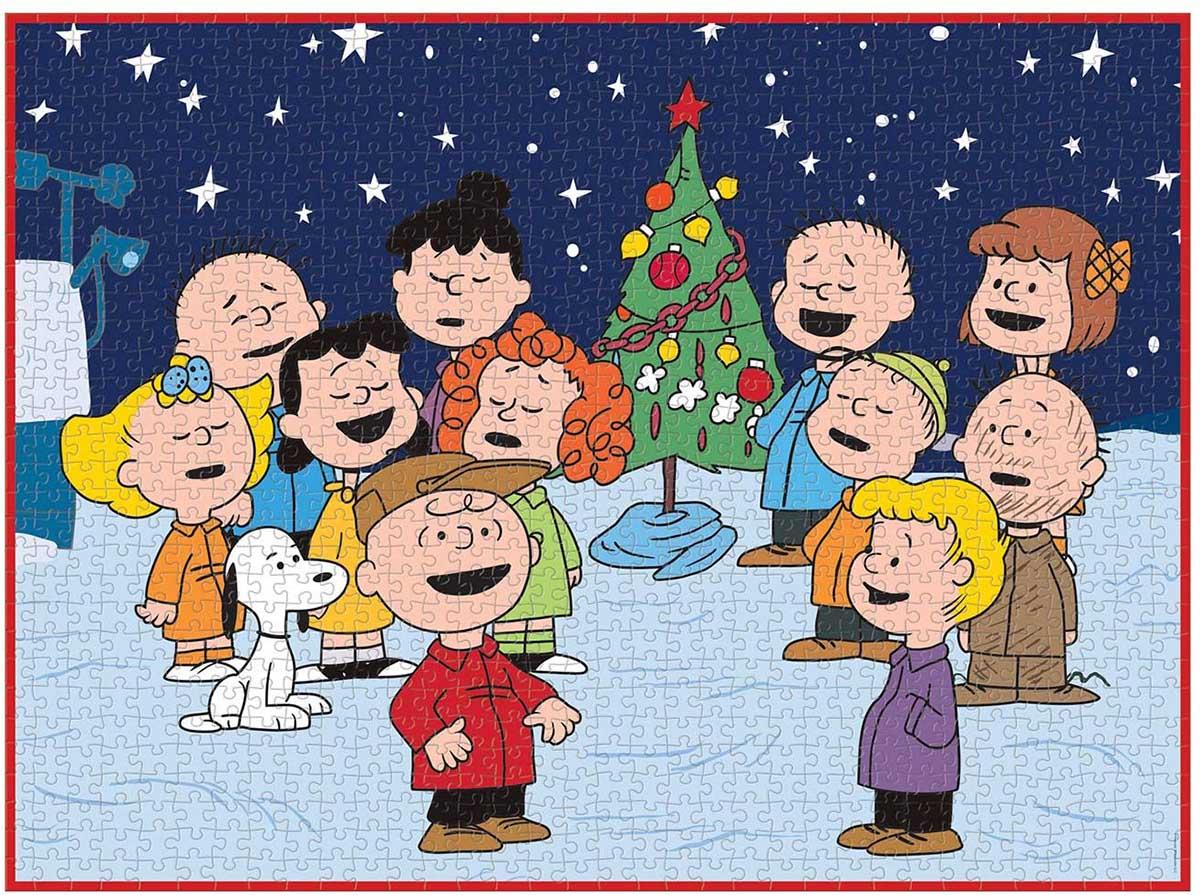 Peanuts Christmas Cartoons Jigsaw Puzzle