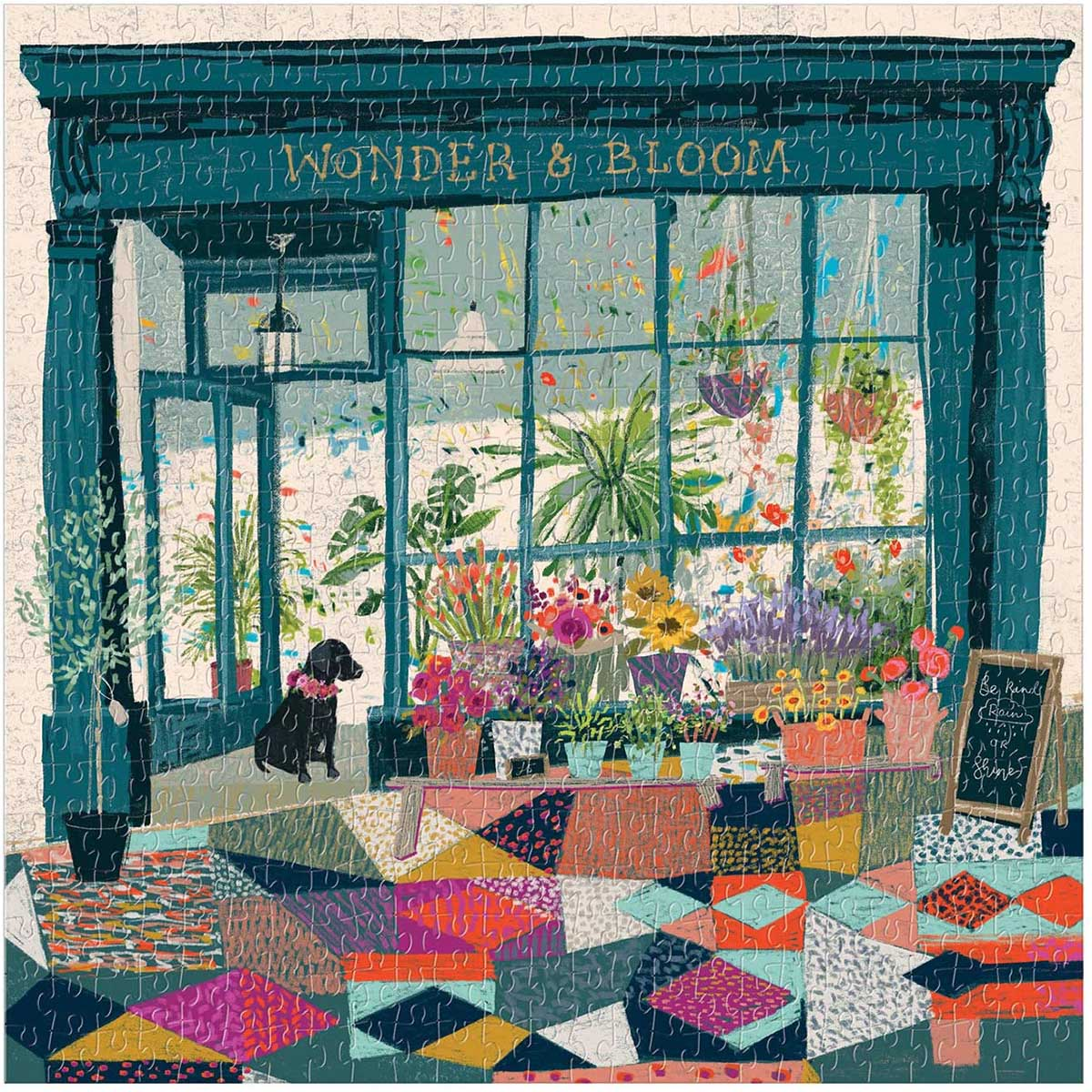 Wonder & Bloom Flowers Jigsaw Puzzle