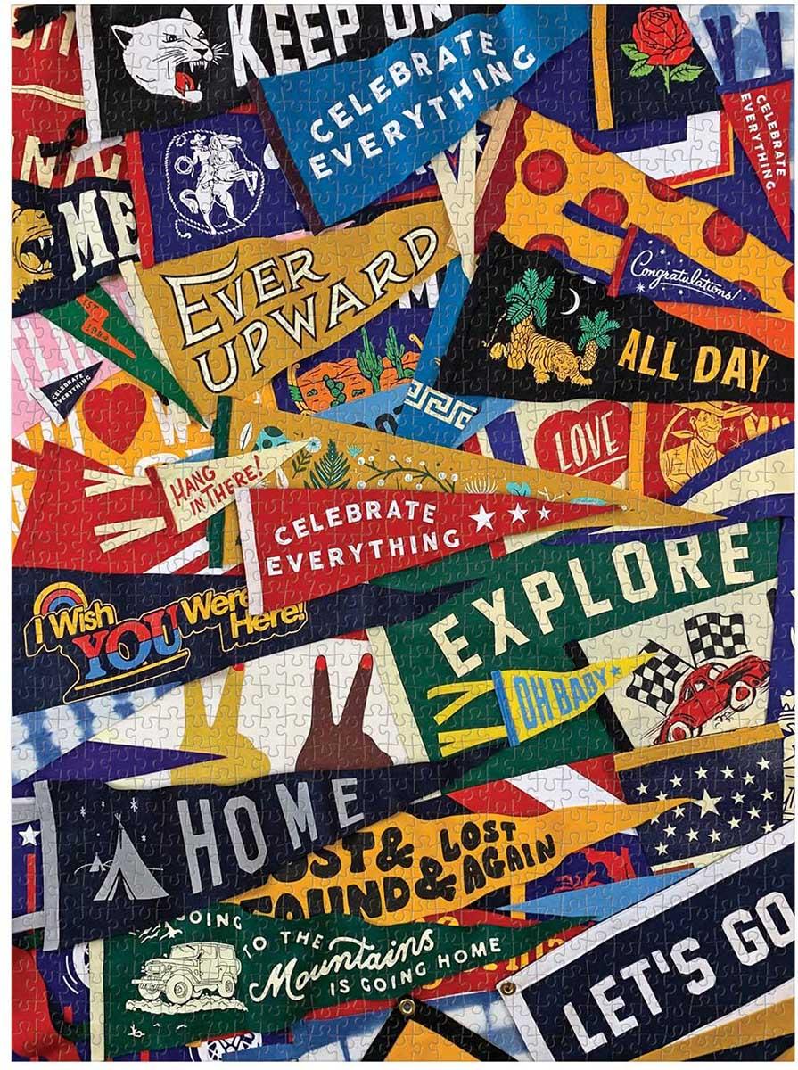 Celebrate Everything Travel Jigsaw Puzzle