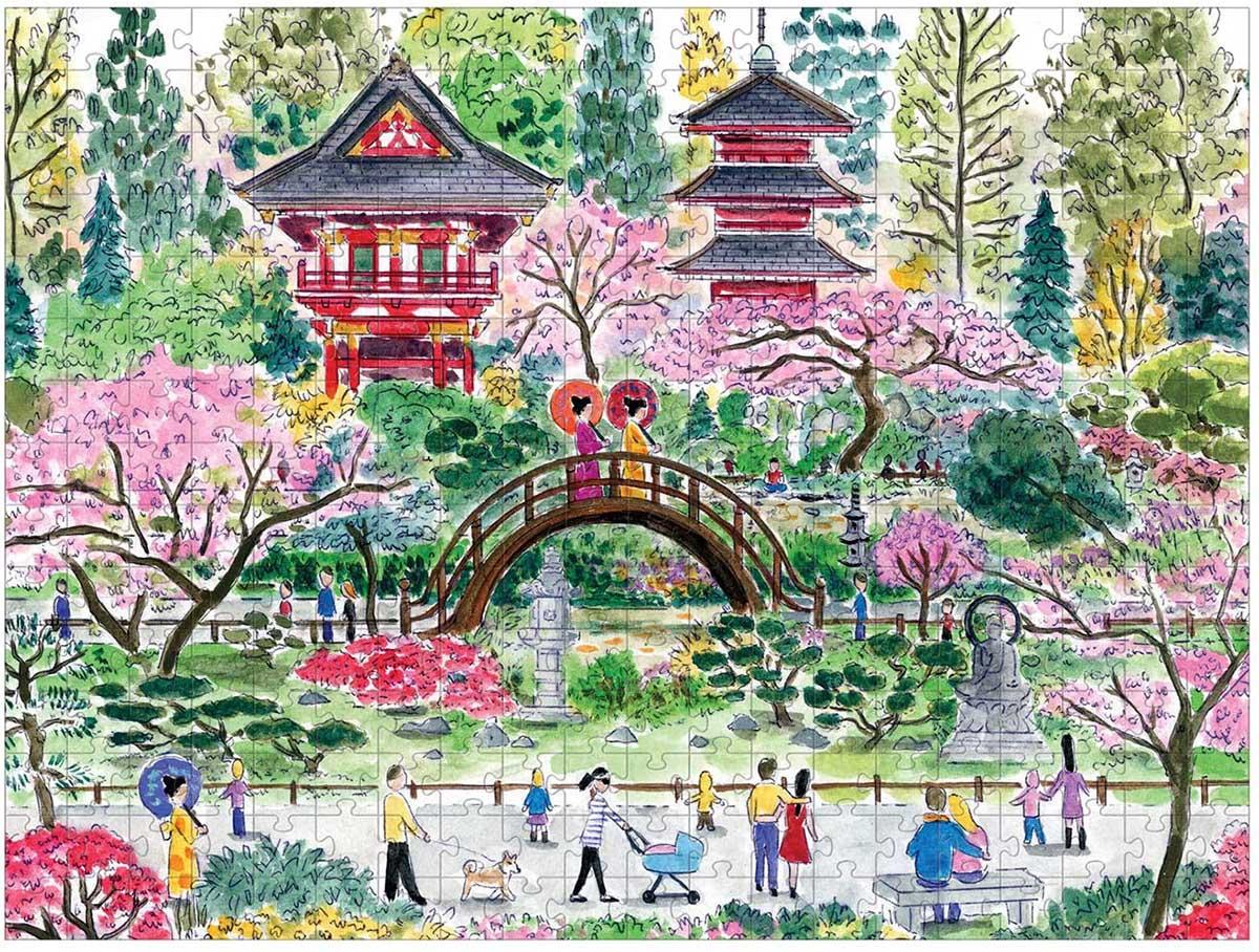 Japanese Tea Garden Japan Jigsaw Puzzle