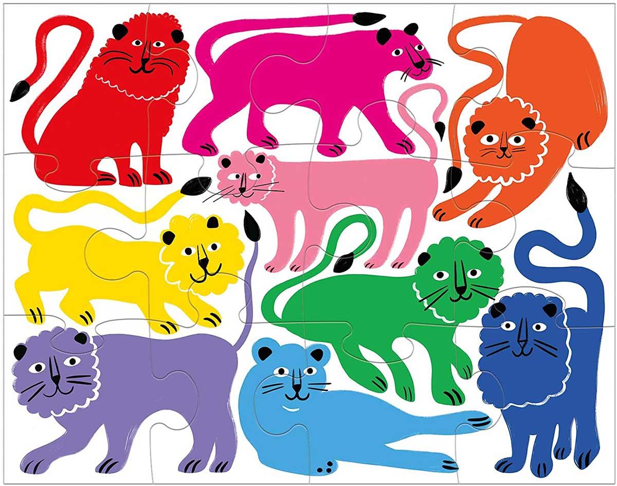 Rainbow Roar! Lions Jigsaw Puzzle