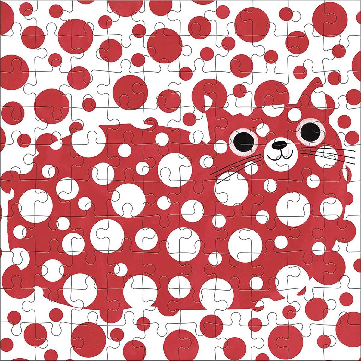 Yayoi Catsama Artsy Cats Cats Jigsaw Puzzle