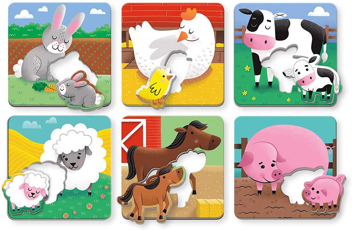 Farm Babies I Love You Farm Animals Children's Puzzles