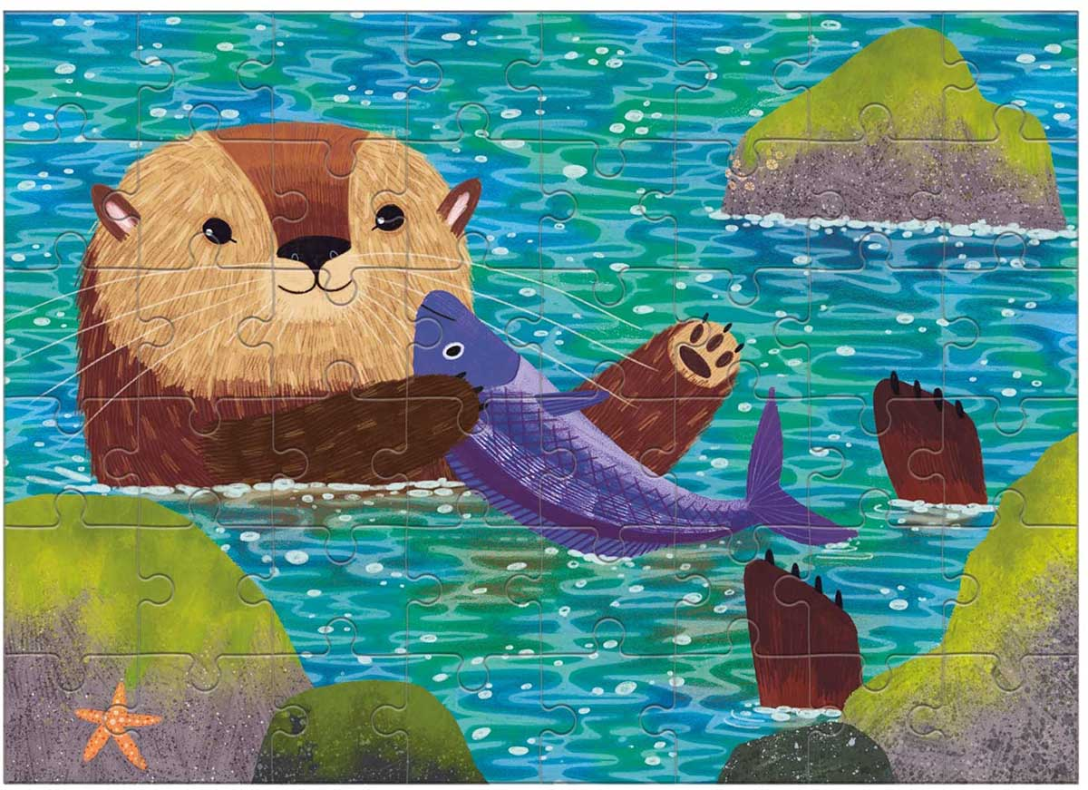 Sea Otter (Mini) Animals Jigsaw Puzzle
