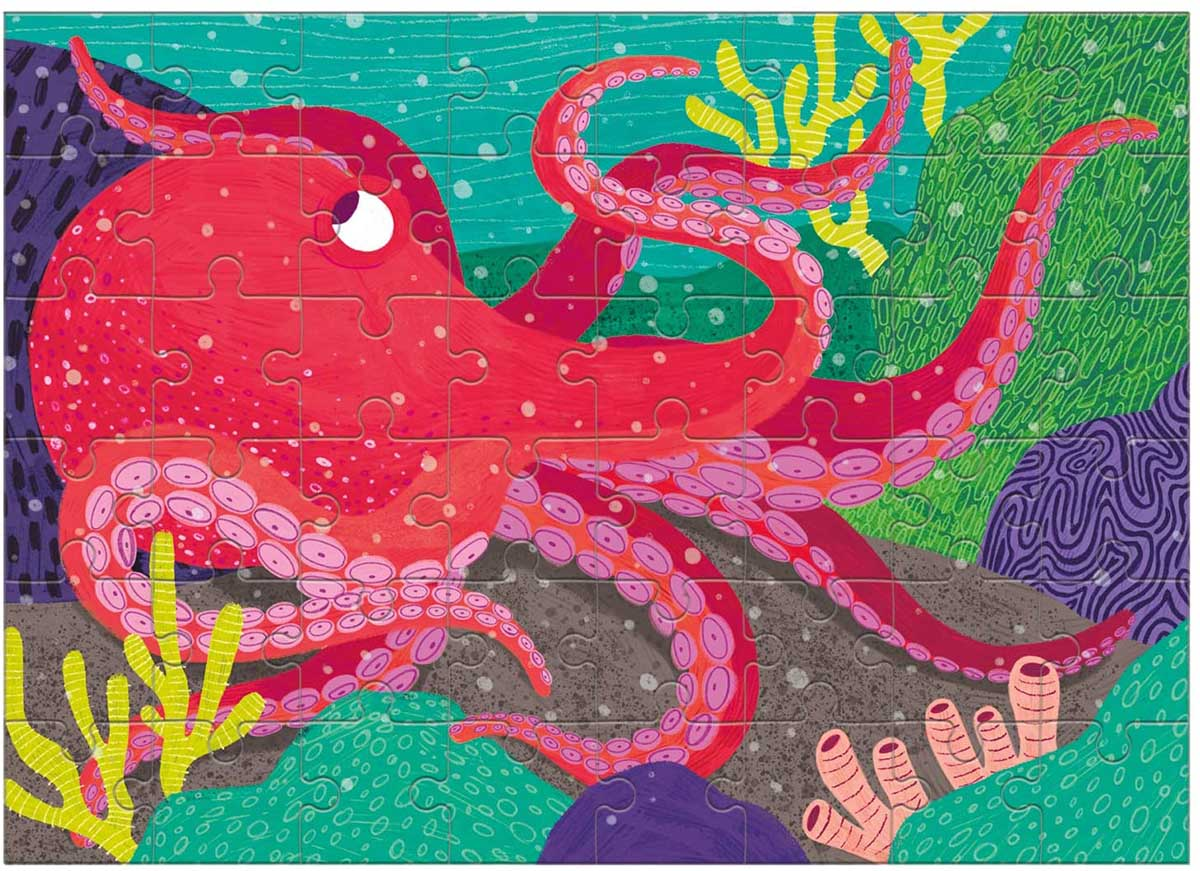 Giant Pacific Octopus (Mini) Under The Sea Jigsaw Puzzle
