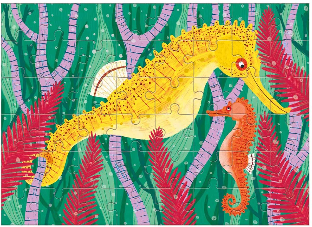Longsnout Seahorse Under The Sea Jigsaw Puzzle