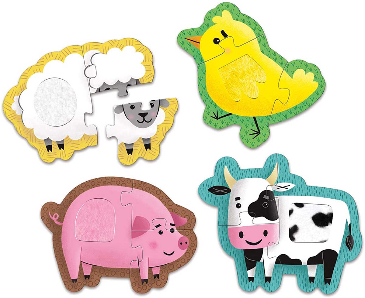 Farm Animals Farm Animals Children's Puzzles