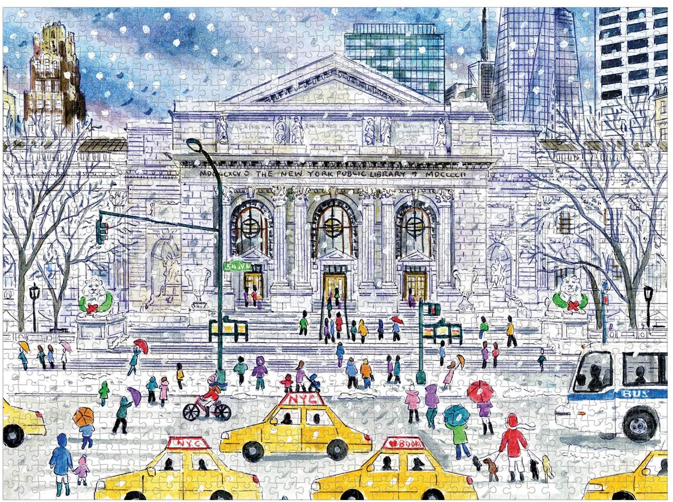 New York Public Library - Scratch and Dent New York Jigsaw Puzzle