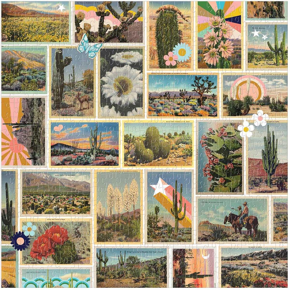 Painted Desert Landscape Jigsaw Puzzle