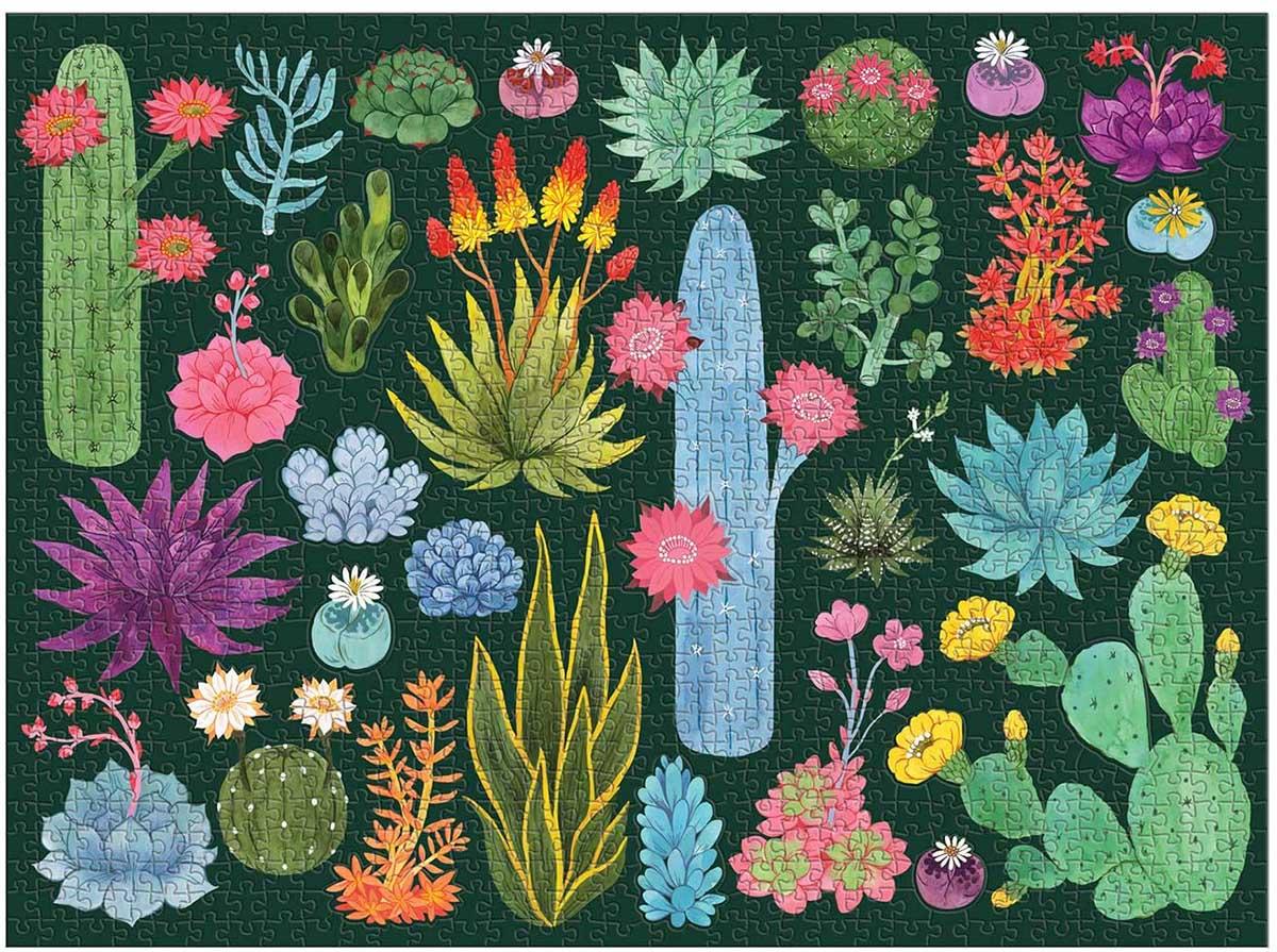 Desert Flora Flowers Jigsaw Puzzle