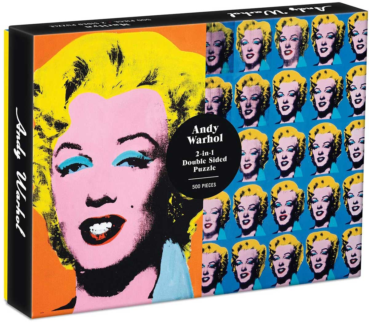Warhol Marilyn Famous People Jigsaw Puzzle