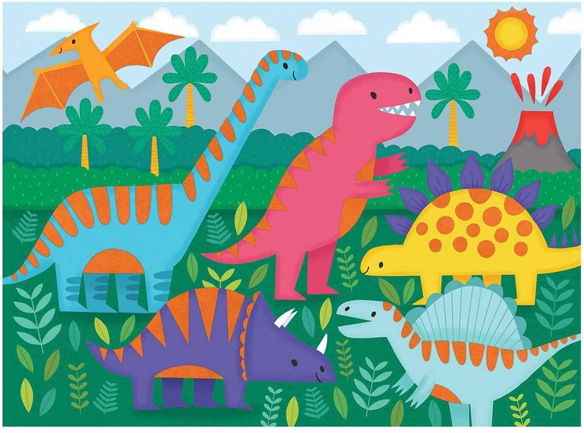 Dinosaurs Dinosaurs Jigsaw Puzzle