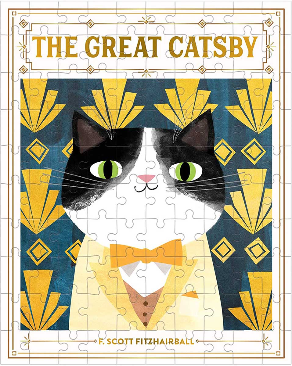 The Great Catsby Cats Jigsaw Puzzle