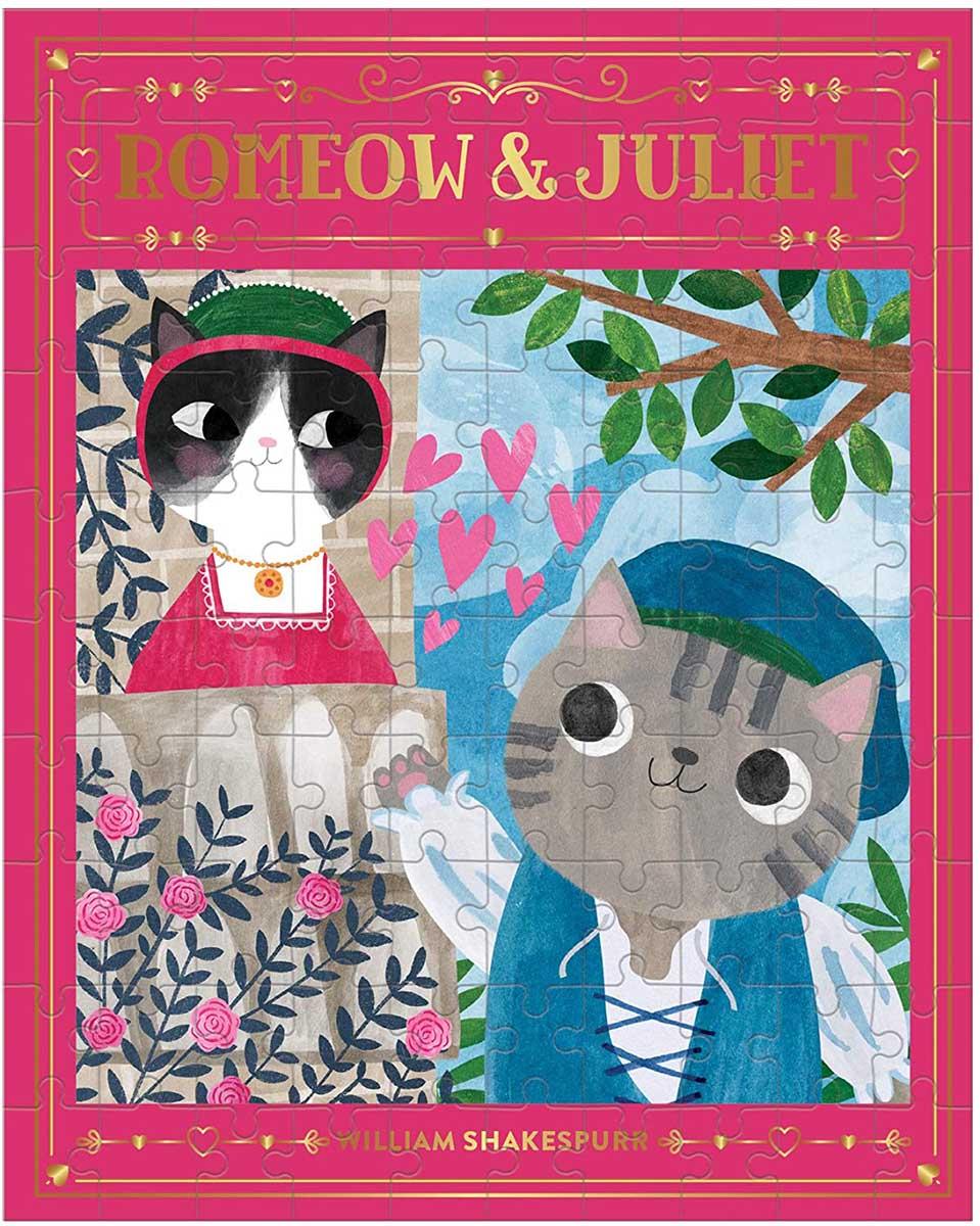 Romeow & Juliet Cats Jigsaw Puzzle