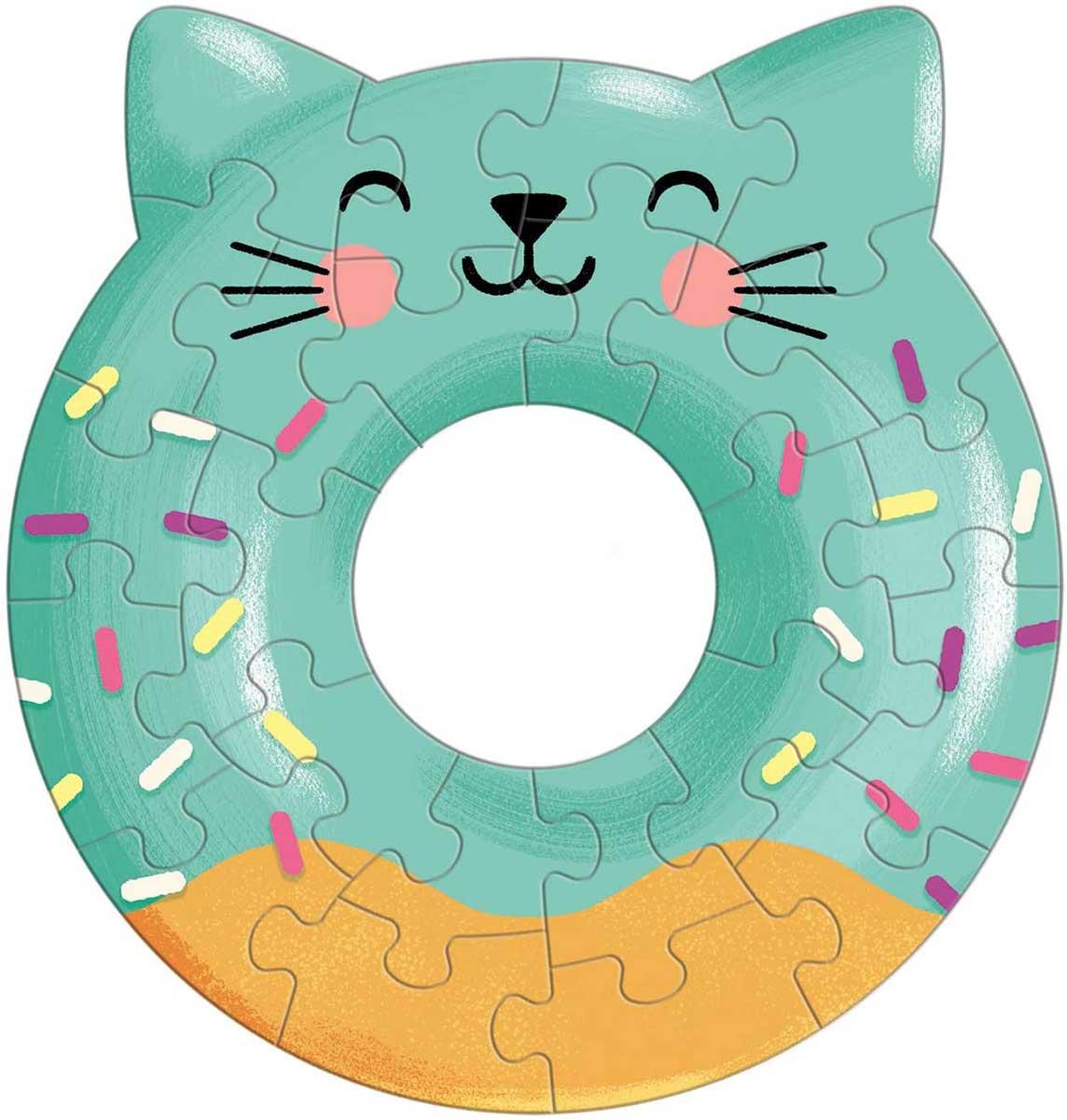 Cat Donut (Mini) Cats Shaped Puzzle