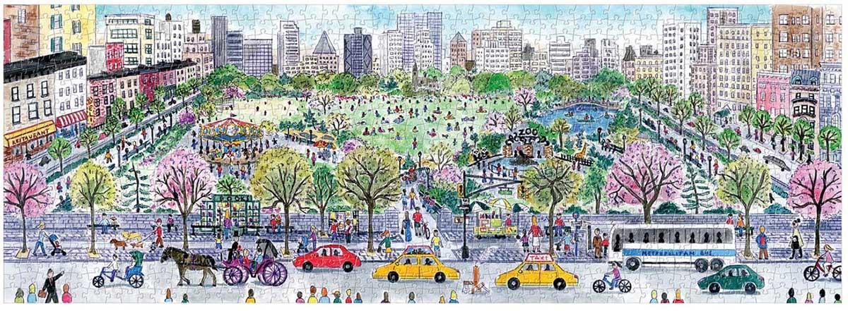 Michael Storrings Cityscape New York Jigsaw Puzzle