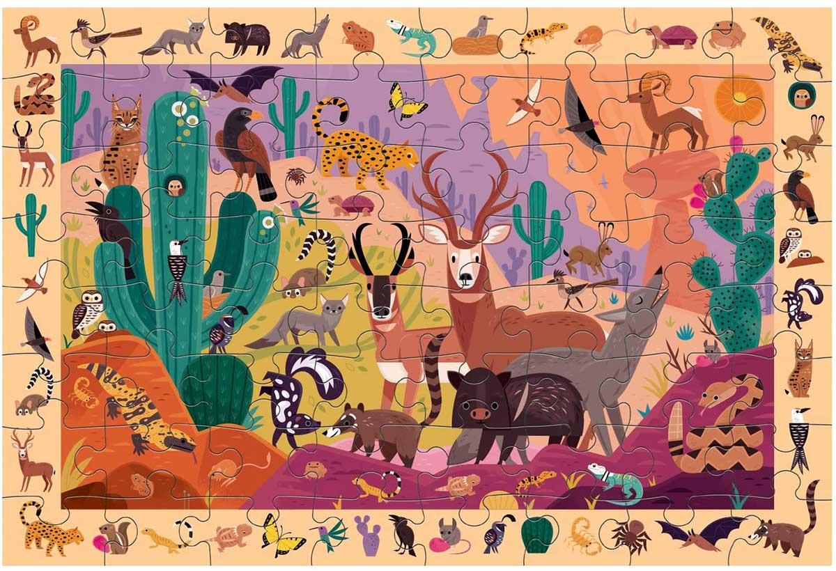 Southwest Desert Animals Hidden Images