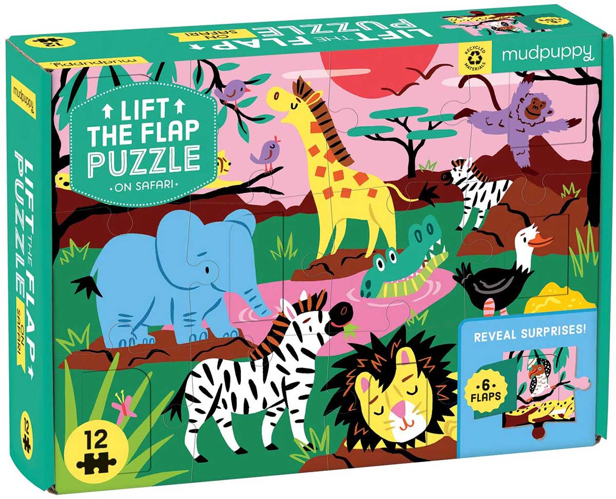 On Safari Animals Jigsaw Puzzle