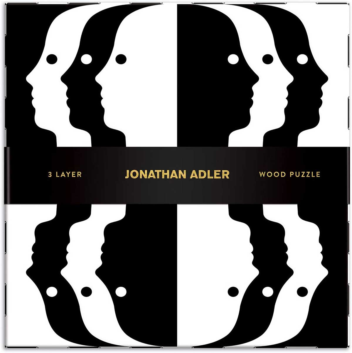 Jonathan Adler Atlas Abstract Jigsaw Puzzle