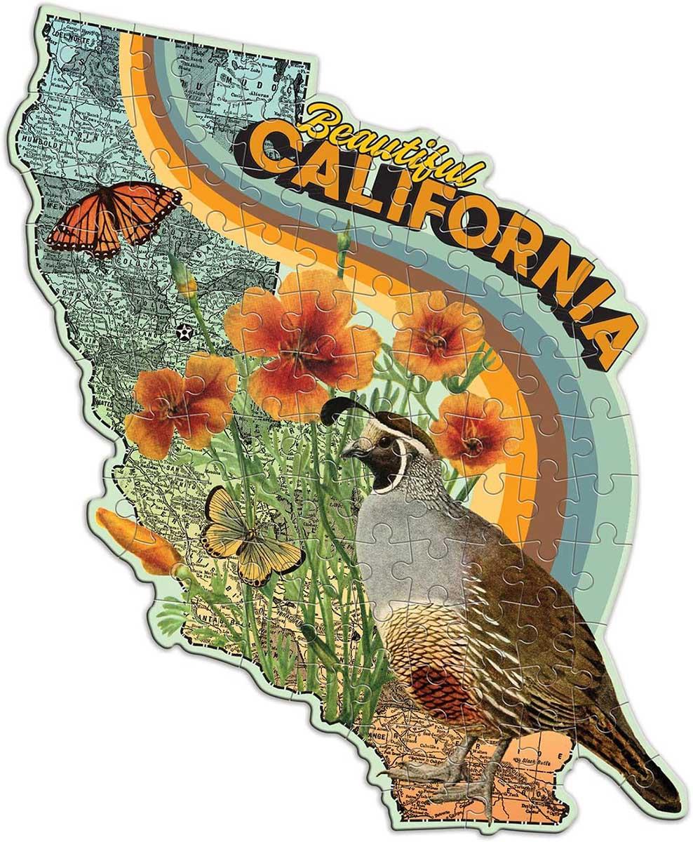 Wendy Gold California (Mini) Birds Shaped Puzzle