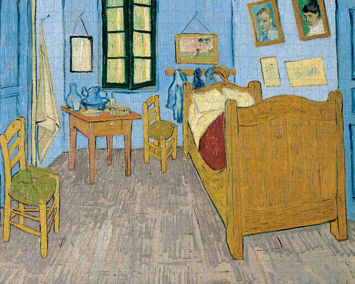 Van Gogh's Bedroom At Arles Impressionism Jigsaw Puzzle