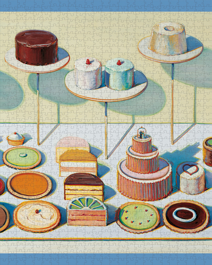 Cakes & Pies Food and Drink Jigsaw Puzzle