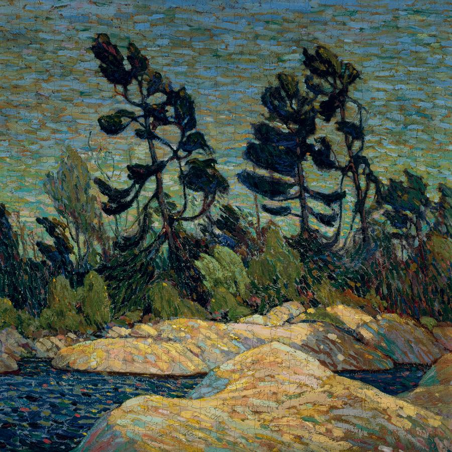 Byng Inlet, Georgian Bay Contemporary & Modern Art Jigsaw Puzzle