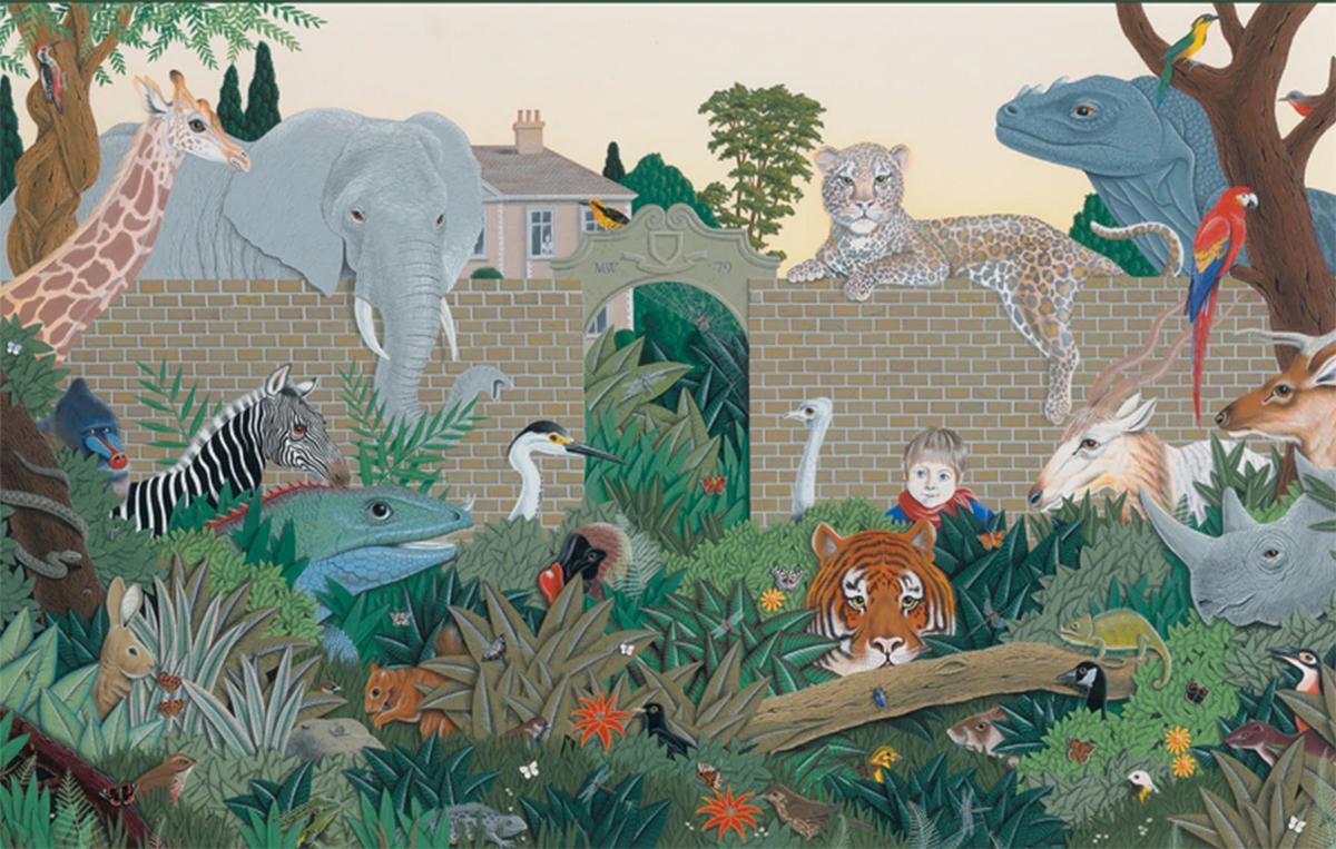 Beyond the Garden Gate Dinosaurs Jigsaw Puzzle