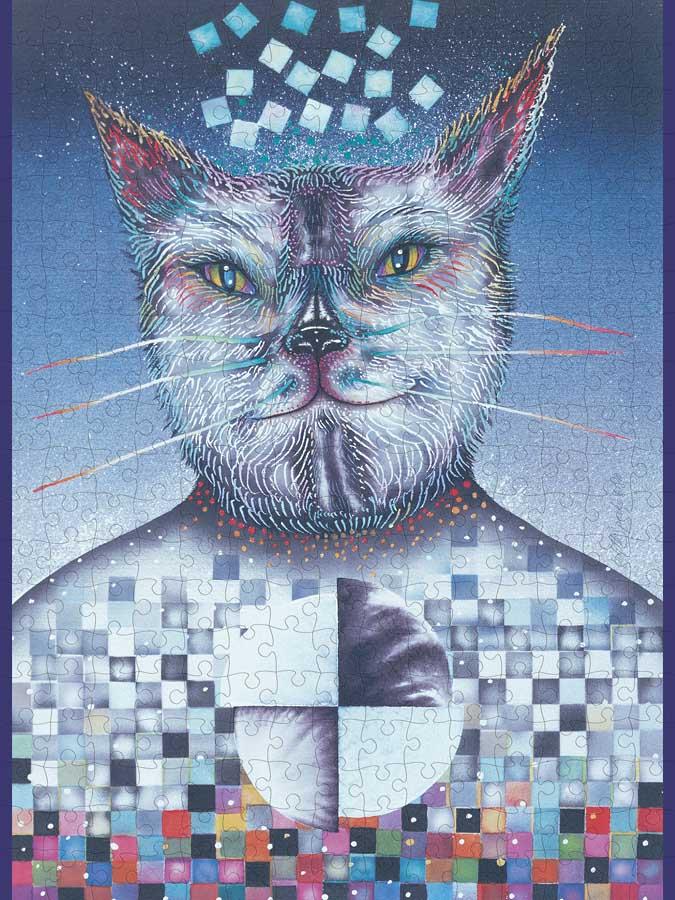 El Gato Cats Jigsaw Puzzle