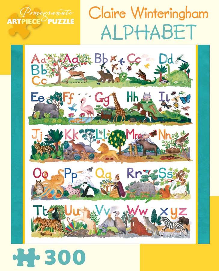 Alphabet Educational Jigsaw Puzzle
