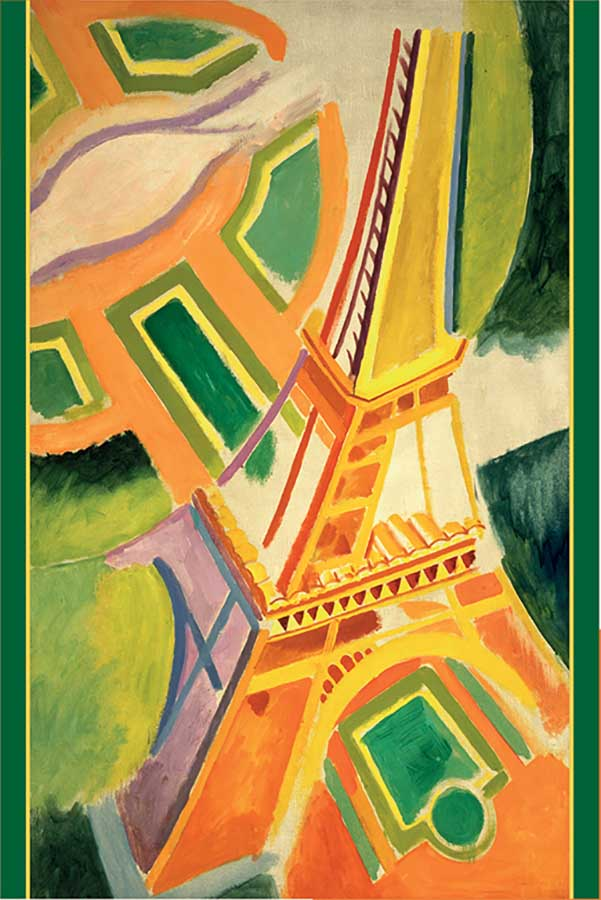 Eiffel Tower France Jigsaw Puzzle