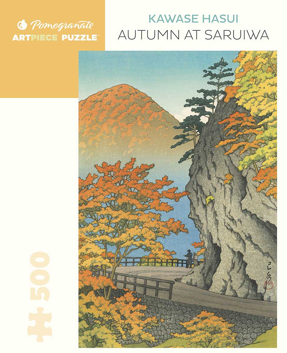 Autumn at Saruiwa Fall Jigsaw Puzzle