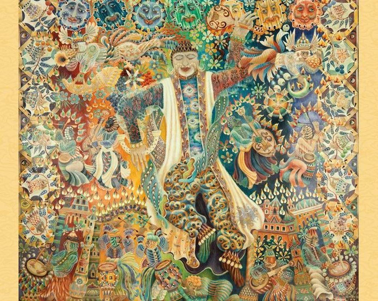 Celebration Contemporary & Modern Art Jigsaw Puzzle